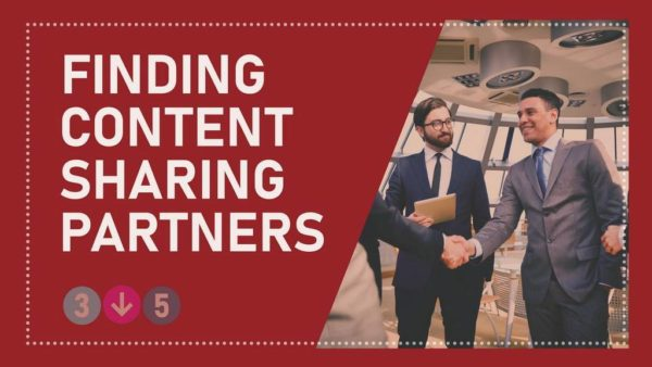 Finding Content Sharing Partners