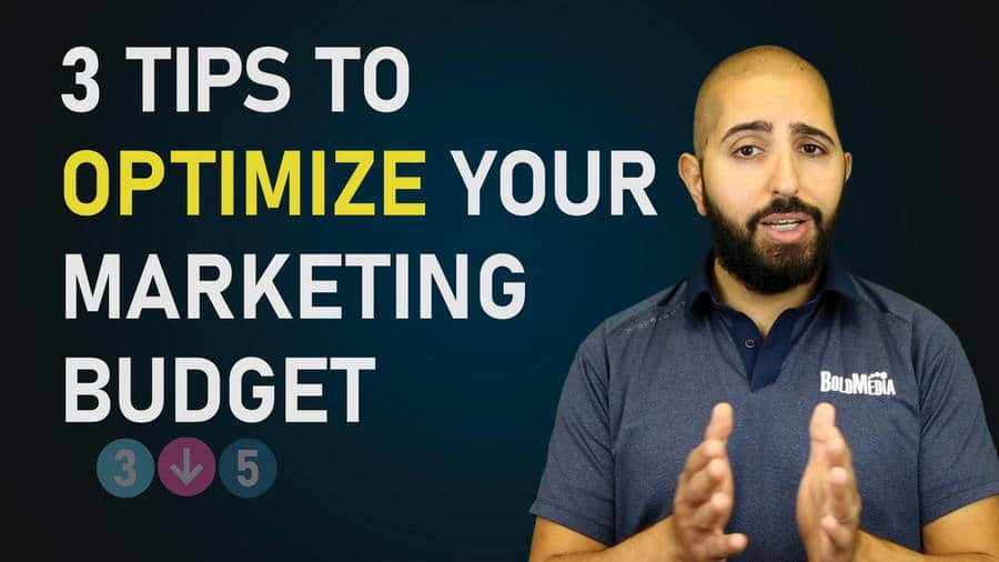 3 Tips to Optimize Your Marketing Budget