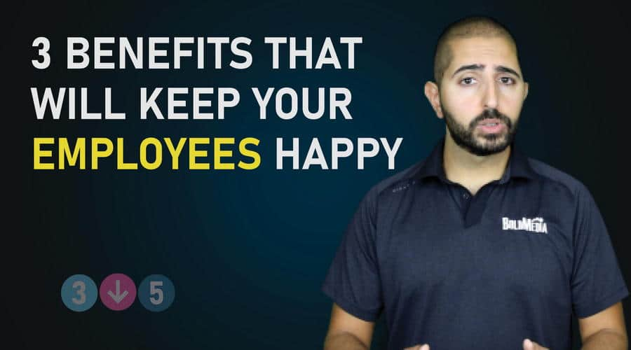 3 Benefits That Will Keep Your Employees Happy
